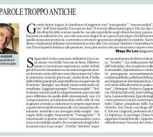 Rassegna stampa sull'affaire Treccani