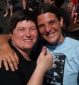 Andreas ed Egon, pride europeo a Roma 2011