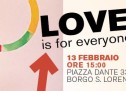 Love is for everyone – incontro a Borgo San Lorenzo