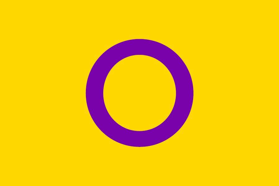 Intersex flag - OII Australia