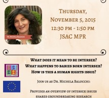 Intersex Human Rights: alla Gallaudet University se ne parla per la prima volta