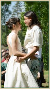 matrimonio di Ingrid e Lorenza, Svezia, giugno 2013