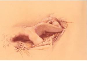 ermafrodita dormiente, di Isabella Stretti
