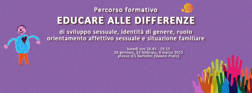 Educare alle differenze Vaiano 2015 viola