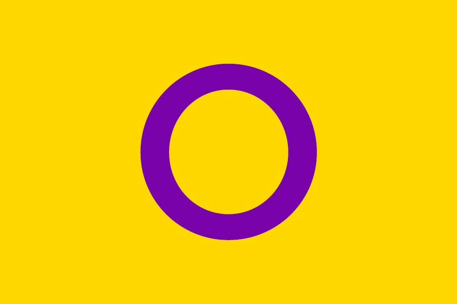 Intersex flag - OII Australia