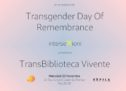 TDoR: l'evanescenza delle esistenze trans